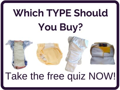 cloth diaper type quiz